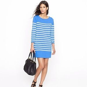 Jcrew maritime dress in skinny stripe. Size XXS